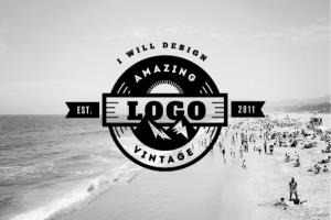 Portfolio for I will design amazing vintage logo