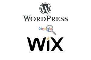 Portfolio for Wix or wordpress website for business