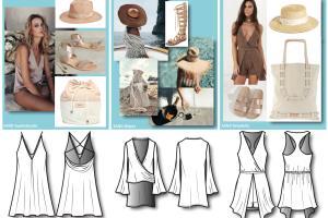 Apparel Design & Accessory Merchandising for Swim Brand