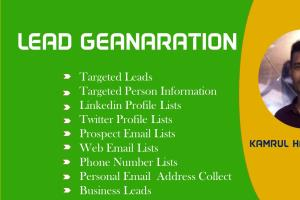 Portfolio for I Can Provide 1000 business Leads