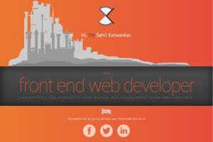 Portfolio for Web Developer & Graphic Designer
