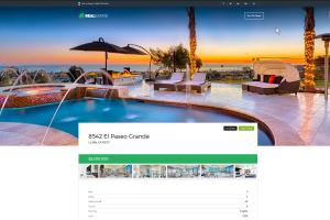 Portfolio for Real Estate Website