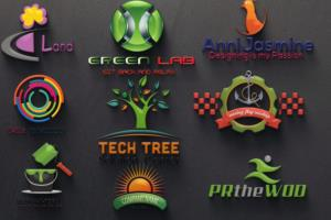 Portfolio for I will Design a 2D or 3D Logo