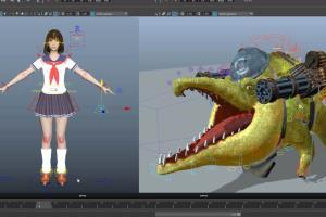Rig and Character setup Animation