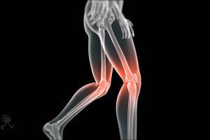 Knee medical 3d Animation