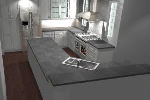 Portfolio for Kitchen and Bath Design, 2020 Renderings