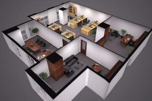 Portfolio for 3D Floor plan