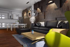 Portfolio for 3D interior renderings