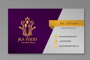 Portfolio for Business Card and Visiting Card Design