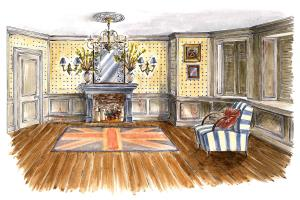 Portfolio for Interior design illustrator