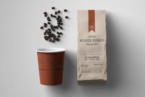 Bogus Beans Branding