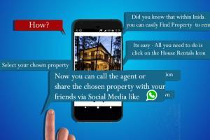 Inida App -House Rental Trailer - Infographics