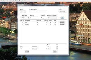 Portfolio for Windows deskop application developer