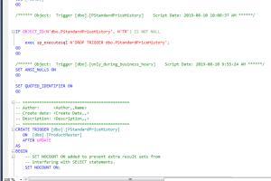 Portfolio for Database - SQL queries, designing