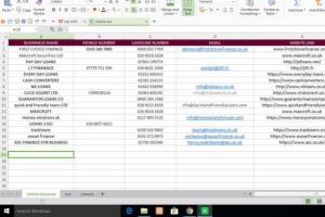 Portfolio for DATA ENTRY/WEB SEARCH/LEAD GENERATION
