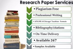 Portfolio for Research Paper writing