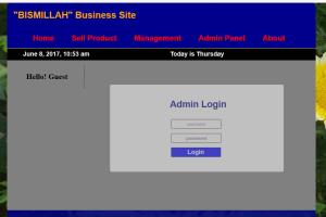 Bismillah Business Site