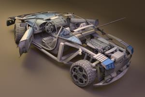Portfolio for 3D Blender