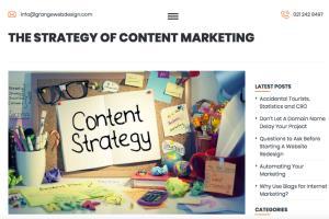 Portfolio for Blog Management