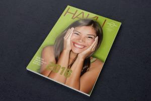 HAKU Magazine for highschool students 2016.