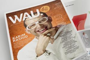 Creative / Lifestyle Magazine WAU.