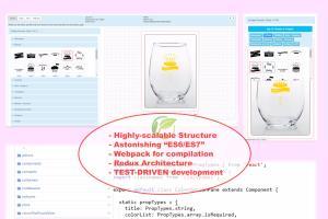 React online design Tool
