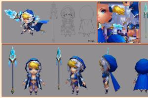 Portfolio for Game Character