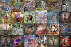 Portfolio for MixTape & Album Cover Design