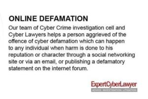 Portfolio for Legal Advice - Defamation Law