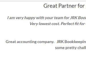 Portfolio for Bookkeeping Services
