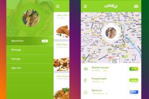 Portfolio for App UI/UX Mobile Application