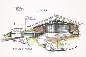 Portfolio for Architecture and graphics design