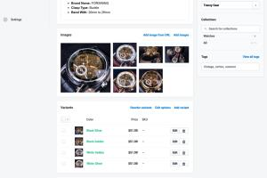 Portfolio for Upload 30 products on any E-commerce