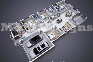 Portfolio for 3d Floor Plan in 2 days for $20 USD