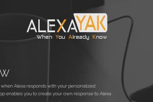 Portfolio for Website and Alexa Skill set development