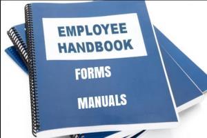Portfolio for Design HR forms and handbooks