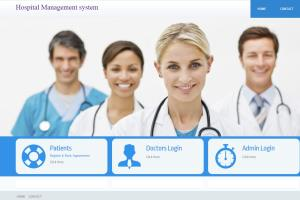 Portfolio for Hospital management system