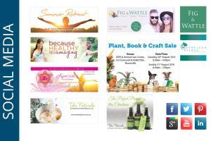Portfolio for Social Media Branding