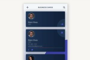 Portfolio for iPhone App UI Design