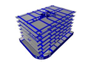 "Portfolio for civil/structural ""ETABS 3D modeling"