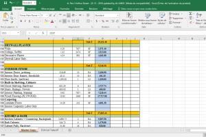 Portfolio for Estimation - Quantity Takeoff
