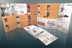 Portfolio for Brochures, flyers and trifold brochures