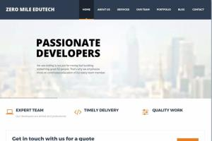 Portfolio for Full Stack Developers on LAMP and NodeJS