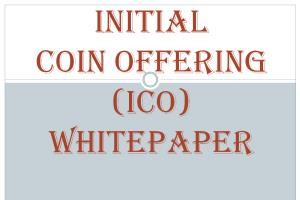 Portfolio for Initial Coin Offering (ICO) Whitepaper