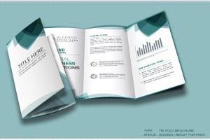 Portfolio for Bi-fold and Tri-fold Brochure design