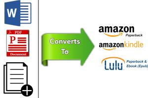 Portfolio for Format & Convert To KDP, Kindle & Lulu