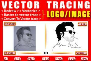Portfolio for I will do vector tracing logo