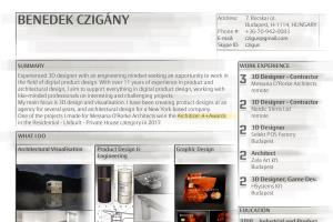 Portfolio for Experienced 3D designer