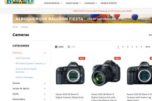Portfolio for E Commerce Website Development