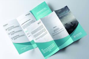 Portfolio for I will design trifold, bifold brochure